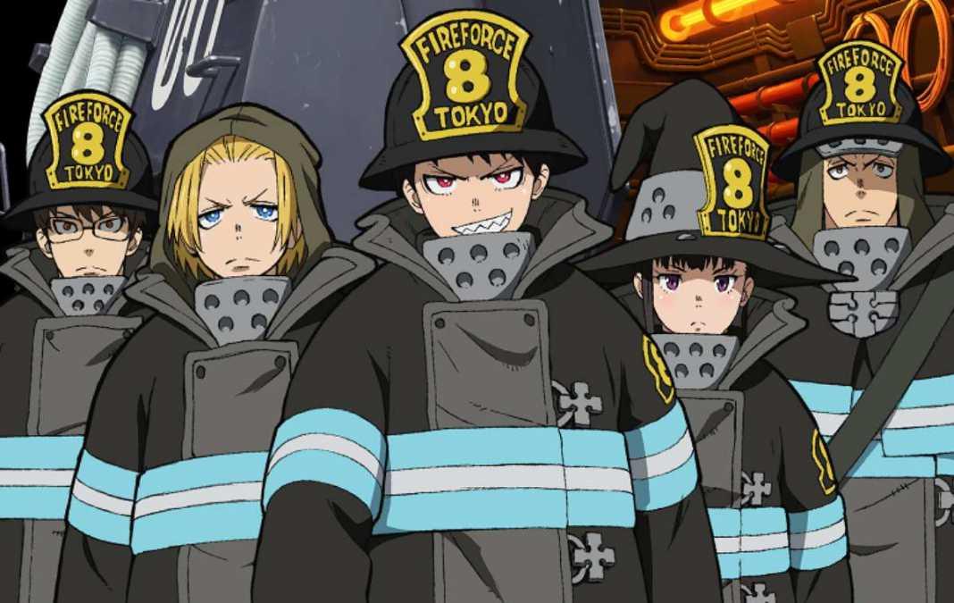 Enen no Shouboutai( Fire force) 2 temporada anunciada para 2020