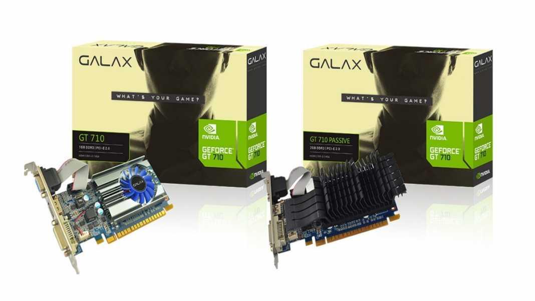 placa de video mais vendida no Brasil: nvidia gt 710 galax