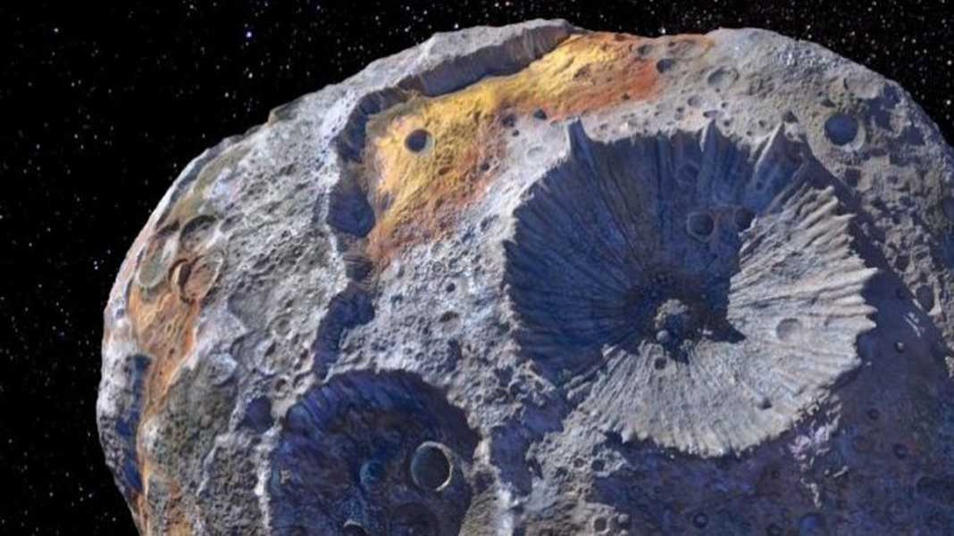 NASA e SpaceX Irão Explorar Asteroide Feito de Ouro!