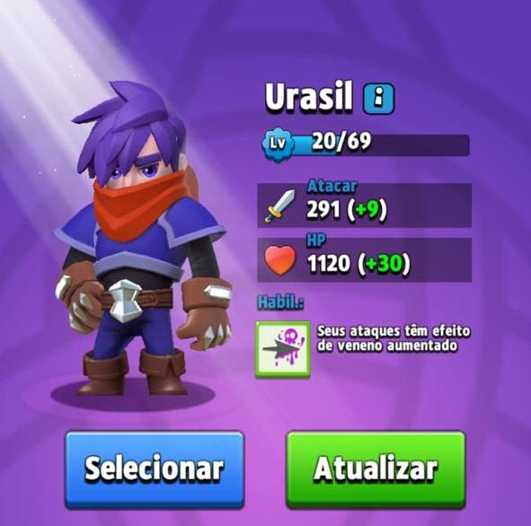 Melhores Heróis de Archero - Urasil