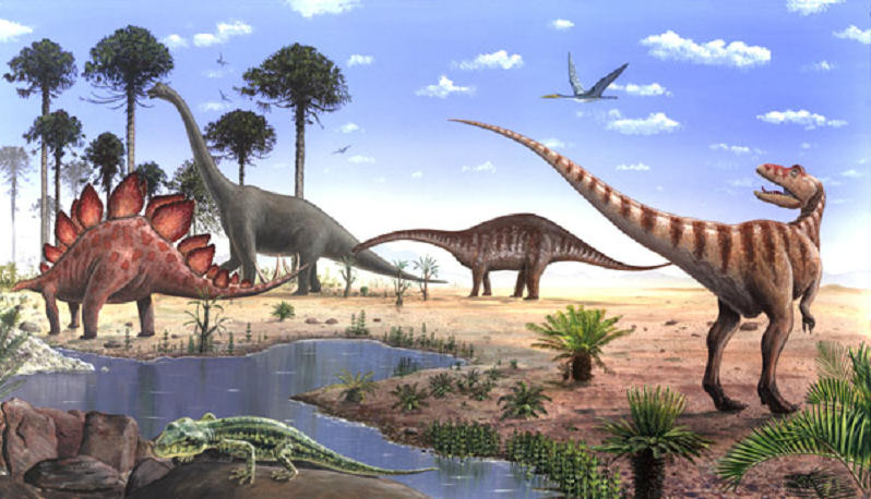 Quando aconteceu o Aparecimento dos Dinossauros