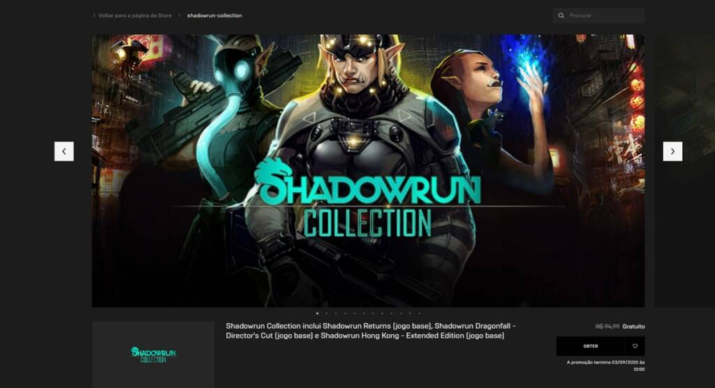 Shadowrun Collection - Epic Games