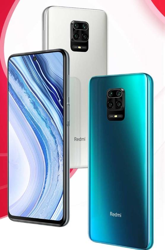 Xiaomi note 9- 30 celulares até 2000 reais