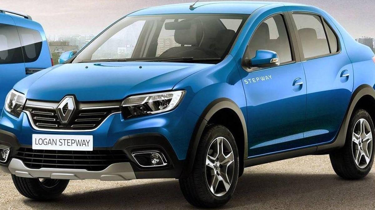 Carro da marca: Renault Logan.