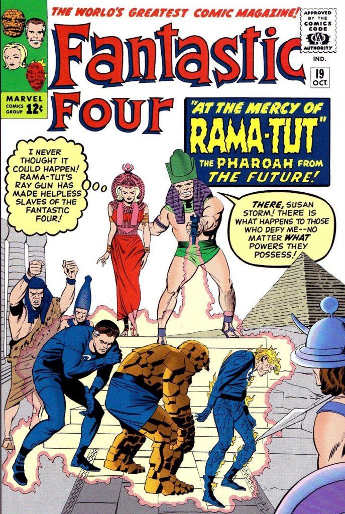 Primeira aparição de Kang, o Conquistador no Quarteto Fantástico